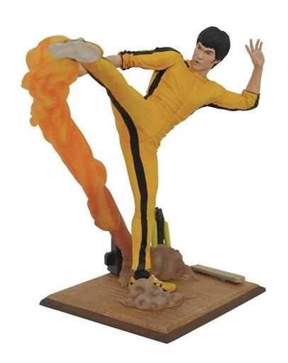 BRUCE LEE GALLERY ESTATUA 25CM KICKING