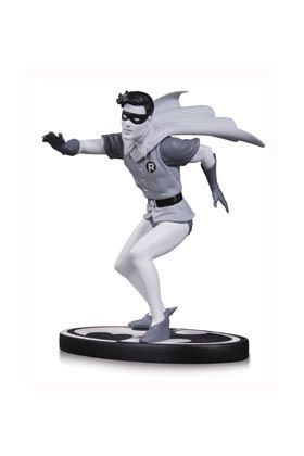 ROBIN BY CARMINE INFANTINO B&W ESTATUA 15 CM BATMAN BLACK AND WHITE DC UNIVERSE