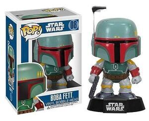 STAR WARS POP VINYL FIG 10CM BOBA FETT