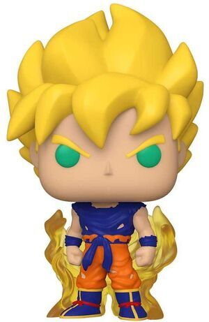 DRAGON BALL Z FIG 9CM POP SS GOKU PRIMERA APARIENCIA