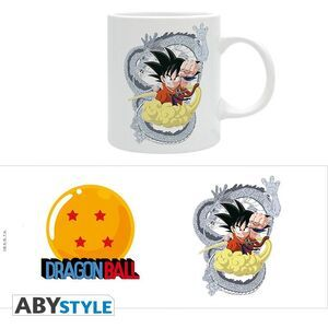 DRAGON BALL  TAZA 320ML GOKU Y SHENRON