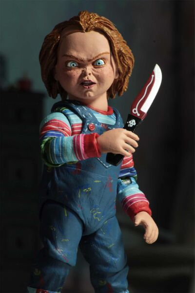 CHUCKY ULTIMATE FIGURA 10 CM SCALE ACTION FIGURE CHUCKY
